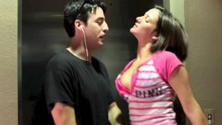 Slutty Girl tries to Seduce Bouncer