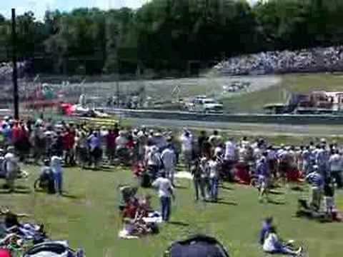 Marco Andretti Crash-Mid-Ohio Indy Races