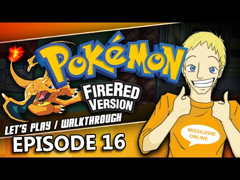 Pokemon FireRed Walkthrough   Episode 16   How to Get Coins and the Game Corner!