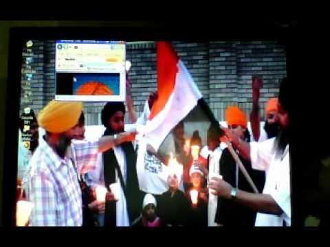 Canadian Sikhs & Kashmiris Protest Against Hindutva India's Republic Day