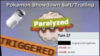 Pokemon Showdown Salt/Trolling COMPILATION #3