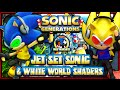 Sonic Generations PC - (1080p 60FPS) Jet Set Sonic & White World Shaders