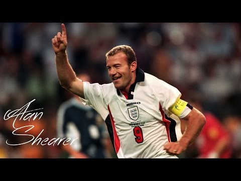 A Legend in the Making - ALAN SHEARER