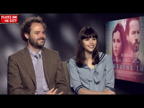 Felicity Jones on Breathe In & The Amazing Spider-Man 2 Black Cat News