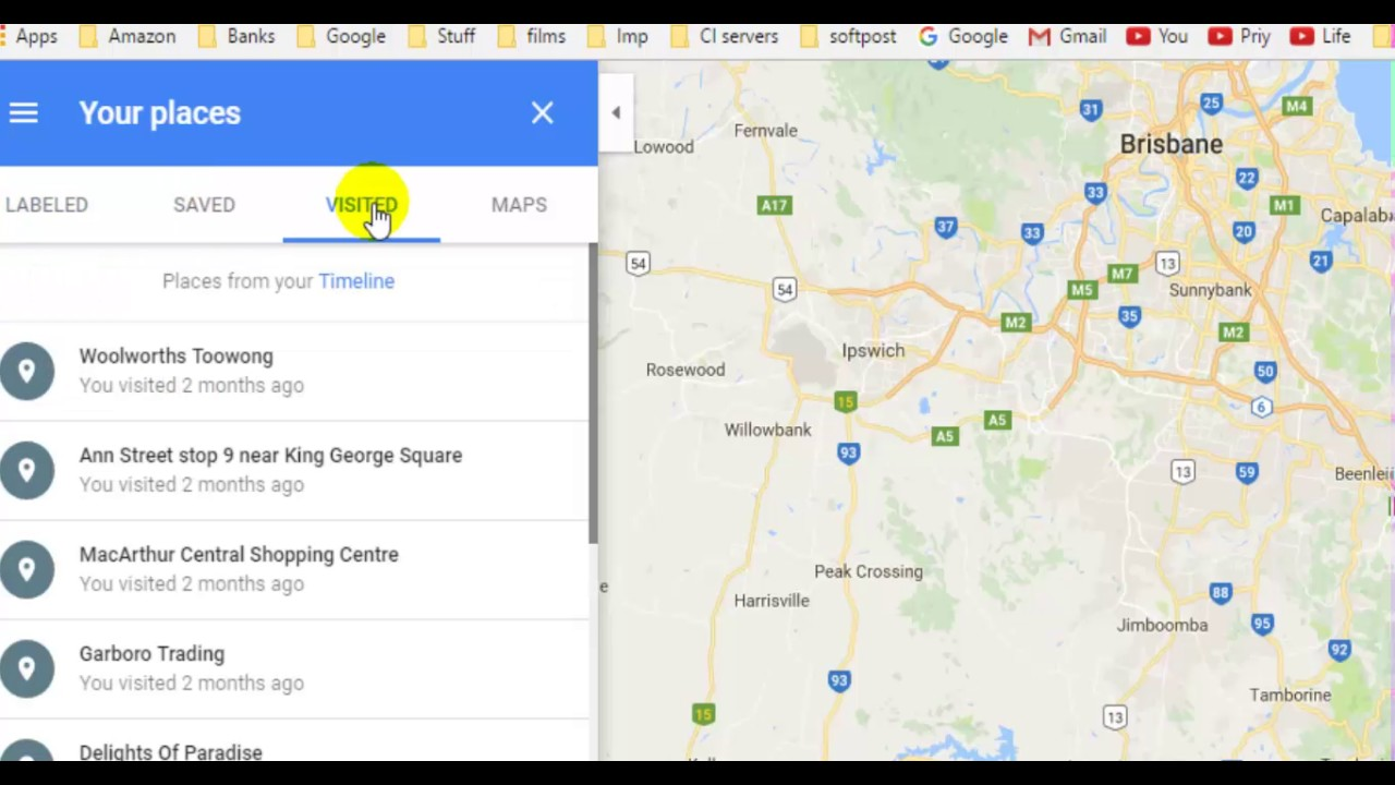 How To Add Home Address In Google Maps Youtube