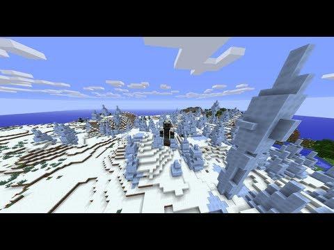 Minecraft Review 13w36a. Hielo comprimido y nuevos biomas