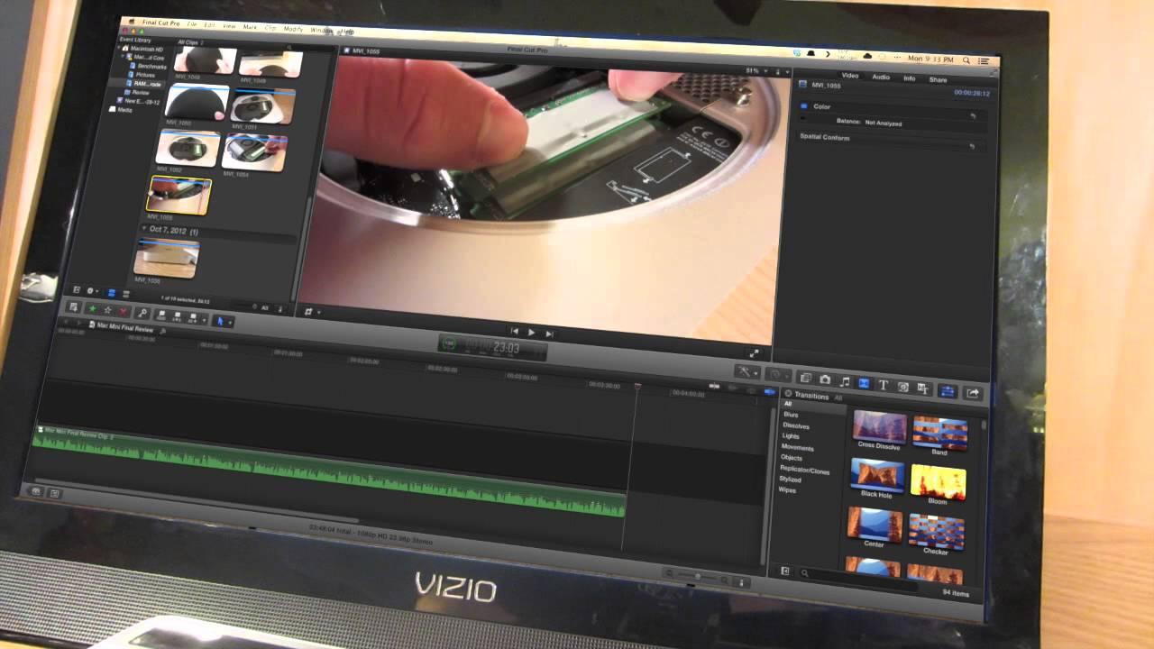 late 2012 mac mini quad core i7 review youtube. Black Bedroom Furniture Sets. Home Design Ideas