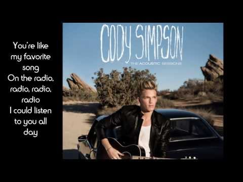Cody Simpson - All Day (the Acoustic Sessions) Lyrics video