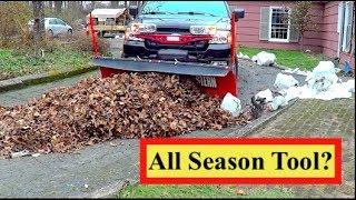 Plowing Leaves