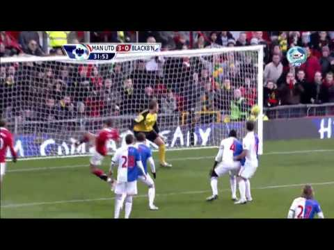 Manchester United vs Blackburn Rovers (7-1) All Goals HD Video by League.mp4