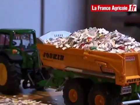 Test grandeur nature pour les miniatures agricoles - Cars et les tracteurs ...