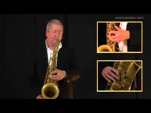 Saxophone Lesson with Andy Sheppard - Pro Music Tutor