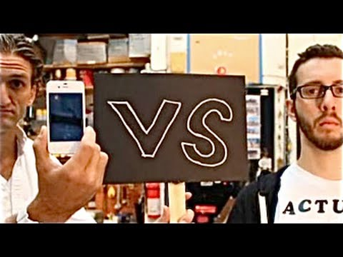 iPhone s Siri vs. My Human Assistant by Casey Neistat