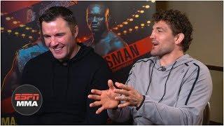 Ben Askren and Chael Sonnen judge the best trash talk in combat sports history | ESPN MMA