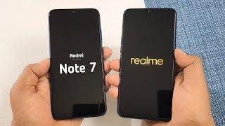 Redmi Note 7 vs Realme 3 SpeedTest & Camera Comparison