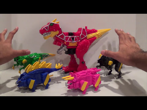 Para Zord & Raptor Zord Review [Power Rangers Dino Charge]