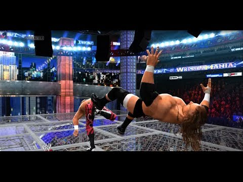 WWE 2K14 - Triple H Vs. Shawn Michaels   Hell in a Cell Match Online 5-Star Match HD