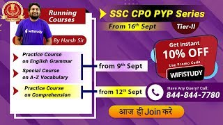 SSC CPO PYP Series | Booster for Your Selection | 10% OFF | Join Now