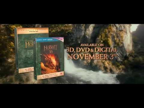 The Hobbit: The Desolation of Smaug Extended Edition on 3D Blu-ray and DVD 3rd November