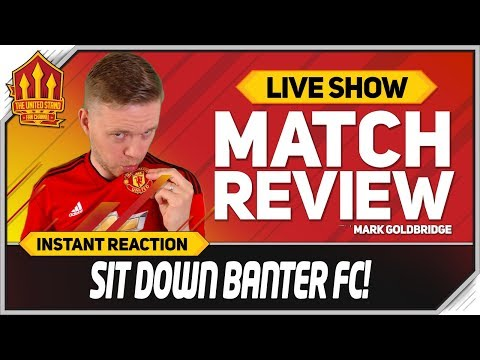 Goldbridge AFTV and CHILL Arsenal 1-3 Manchester United Match Reaction