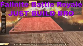 Fallout 76 Nuclear Winter Battle Royale - Just Build Bro (Fortnite status)