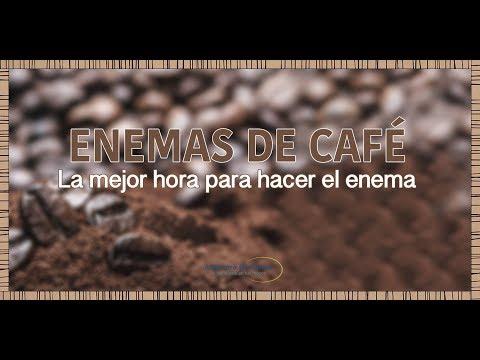 Enema de café  La mejor hora para hacerlo