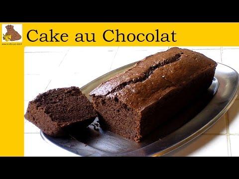 le cake au chocolat recette rapide et facile hd