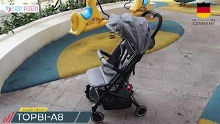 TOPBI A8 XE ĐẨY CAO CẤP CỦA ĐỨC || BABY PLAZA