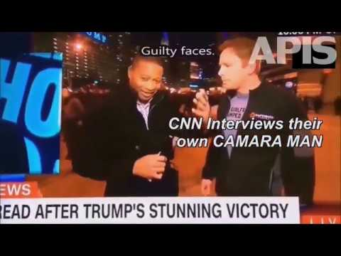 CNN Interviews Own Camera man