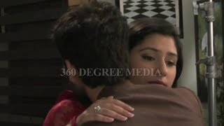 Pyar Ka Dard Meetha.... on location -  Hot scene of Aditya & Pankhuri