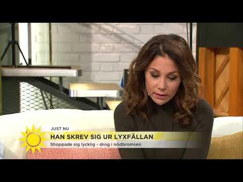 """""""Jag blir på riktigt glad av att köpa saker"""" - Nyhetsmorgon (TV4)"""