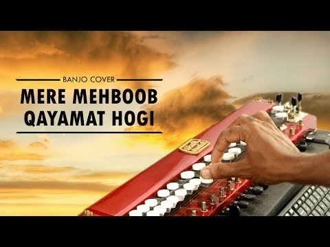 Mere Mehboob Qayamat Hogi Banjo Cover | Bollywood Instrumental | By Music Retouch