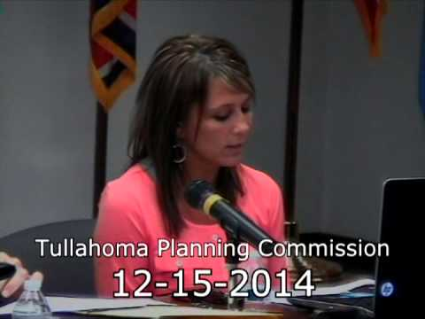 Tullahoma Planning Commission Meeting 12-15-2014