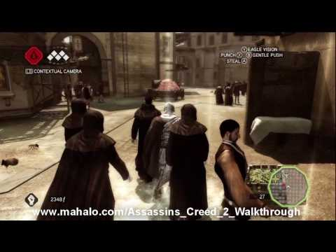 Assassin's Creed 2 Walkthrough - Mission 14: Ace Up My Sleeve HD