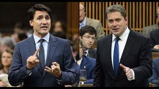 Scheer and Trudeau face off over Bill C-69