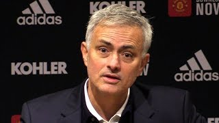 Man Utd 2-1 Tottenham - Jose Mourinho FULL Post Match Press Conference