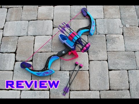 [REVIEW] Nerf Rebelle Arrow Revolution Bow Unboxing, Review, & Firing Test