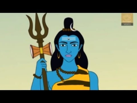 Lord Shiva And Parvati - Gods Of Indian Mythology - Animation video