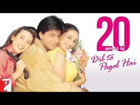 Celebrating #20YearsOfDilToPagalHai | Shah Rukh Khan | Madhuri Dixit | Karisma Kapoor | Akshay Kumar