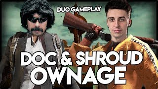 Shroud & DrDisRespect - KAR98 MASTERS - Duo Perspective