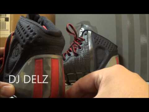 Adidas Derrick Rose D.Rose 4 Sneaker Review Plus On Feet W/ @DjDelz Dj Delz