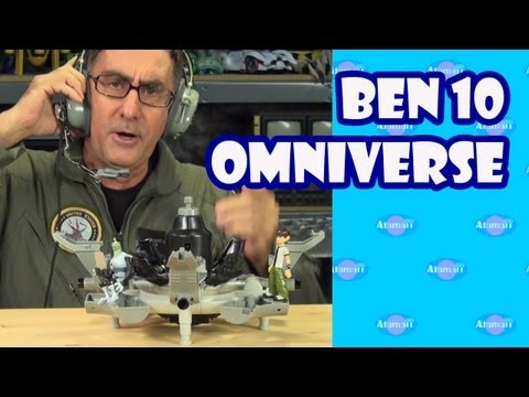 Ben 10 Omniverse Plumber Command Center Toy Review Unboxing