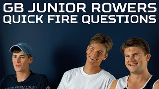 Quick Fire with GB Junior Worlds Athletes