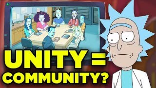Rick and Morty COMMUNITY Easter Egg Hidden Meaning! | Ricksplained