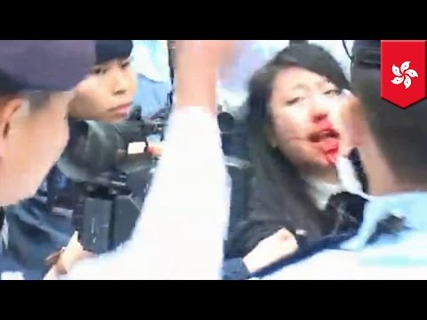 Police battle HK protesters targeting Chinese tourists for their bad manners and bad habits