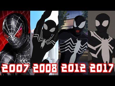 Эволюция Черного Человека-Паука (1994-2017)