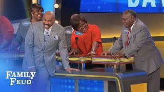 WELL PLAYED SIR!!!   Family Feud