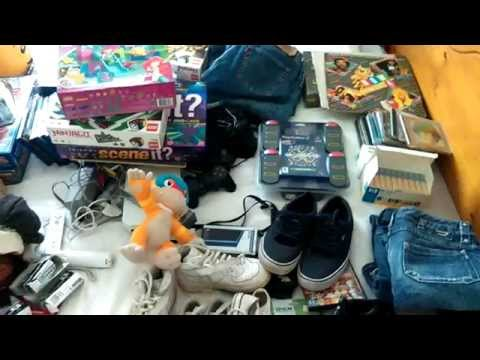 Sunday Morning Carboot sale haul. Making money on Ebay UK from home