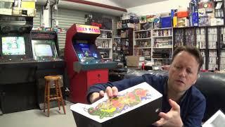 Replicade Centipede Mini Arcade From New Wave Toys October 2018