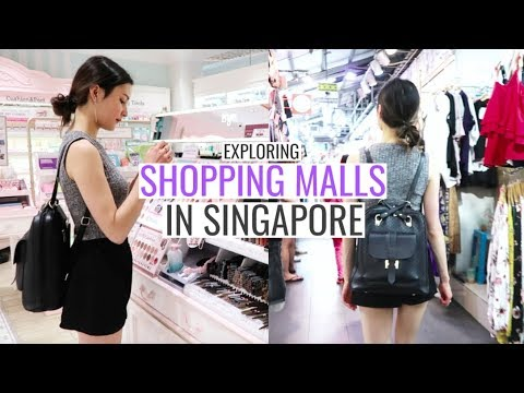 Incredible Shopping Malls & Vegan Food⎮Singapore Trip 2018